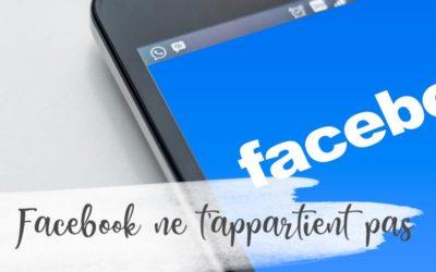 Facebook : un outil et non une solution